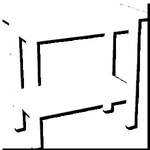 ícone aparador Dellart Mesas e Cadeiras