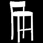 ícone banqueta Dellart Mesas e Cadeiras