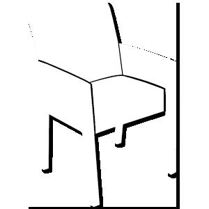 ícone poltrona Dellart Mesas e Cadeiras